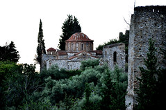 Mistras, Sparta (dimitrioskapsalis) Tags: greece sparta peloponnese mountain mistras ancient castle side landscape outdoor