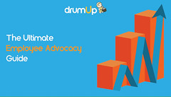 Employee Advocacy (Social Media & Content Curation Platform) Tags: design marketing media flat social graphs guide employee advocacy infograph drumup employeeadvocacy drumupio