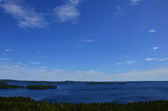 The view from a sightseeing tower (Villikko) Tags: summer lake tower finland sightseeing kes jrvi pijnne
