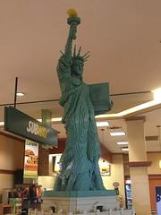 statue of liberty lego (timp37) Tags: june statue court liberty illinois lego americana northbrook 2016