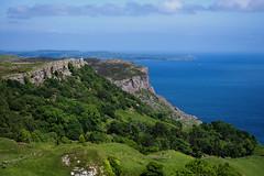 Fair Head (Philip McErlean) Tags: wood ireland sea sky mountain forest island coast sill deciduous northern causeway antrim ballycastle fairhead rathlin murlough rx100