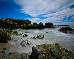 Flutters In The Mist (scottducey209) Tags: ocean california longexposure sea seascape northerncalifornia rock 30 landscape coast monterey nikon long exposure pacific tokina filter nd carmel pebblebeach 17miledrive centralcoast haida sealrock 1000x 1116mm d5200