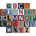 Alphabet 70