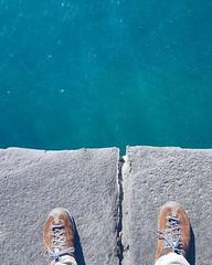 Grigio (ma anche nero e verde) e blu, tanto blu. I colori di #Vulcano alle Eolie. #luxuryvulcano (Viaggio Vero) Tags: travel photo flickr viaggio viaggiovero instagram