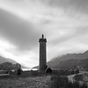 Glenfinnan Monument (Mark Rowell) Tags: longexposure bw 120 6x6 film zeiss mediumformat scotland highlands fuji hasselblad 60mm lochshiel glenfinnan acros weldingglass