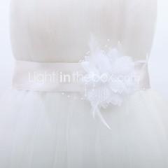 Ницца атласной женской свадьба ленты створки с цветами (больше цветов)