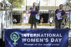 (louisa_catlover) Tags: city autumn demo march rally protest australia melbourne victoria demonstration feminism womensrights swanstonst internationalwomensday womensday 2015