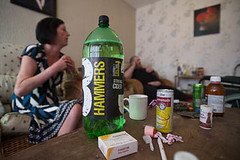 A cocktail of mind altering substances (www.socialissuesphotography.co.uk) Tags: poverty drunk poor health alcohol need distress distressed starvation addiction dependency mobility destitute deprivation deficit disability debt destitution difficulty bereft walkingaid penniless hardship socialissues bankruptcy austerity deficiency povertystricken hardup shortofcash impoverishment socialdeprivation shortofmoney substancemisuse unabletomakebothendsmeet
