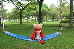Bo in the park