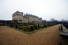 harewood house (haywardk49) Tags: camera uk trees england plants house mist building home ex grass misty fog wall garden dc nikon path yorkshire north steps leeds lawn foggy sigma grand mm dslr 1020mm bushes 1020 shrubs listed stately harewood hsm f456d d3200
