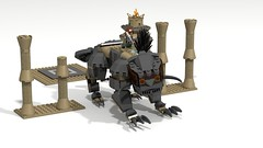 Celosia 13 (Anduin1710) Tags: shadow game video lego wander colossus celosia ldd shadowofthecolossus digitaldesigner