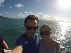 Sur le bateau Silverswift après nos plongées