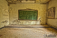 If the blackboard is full (LaR0b) Tags: urban castle abandoned lost decay exploring explore miranda chateau exploration blackboard hdr highdynamicrange noisy ue urbex explored lar0b