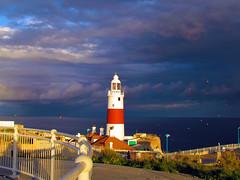 faro de Gibraltar (ebsigma) Tags: africa espaa faro mediterraneo paisaje andalucia escalera bahia sur gibraltar fare dewitt caon bioshock farodelsur gibraltarespaol