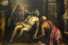 Titien, Piet (dt.), c. 1576  Venise, mars 2015 (Stphane Bily) Tags: venice italy painting death christ mort peinture venise italie accademia piet titien stphanebily