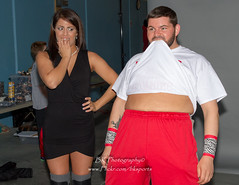 Tessa Blanchard, JD Browning-2 (bkrieger02) Tags: wrestling squaredcircle divas prowrestling knockouts professionalwrestling ecwa tessablanchard ecwasuper8