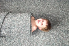 End of the roll (KaseyEriksen) Tags: silly kids children fun carpet happy kid funny child play joy laughter