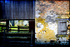 Triptych Effect (Groovyal) Tags: art barn forest photography three triptych village panel image historic tri wharton batsto groovyal