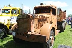 IMG_2815 (RyanP77) Tags: show california b white truck log model shiny trucker international chevy chrome r pete logger gmc peerless kw peterbilt ih kenworth cabover bullnose fruehauf