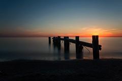 Sunrise at 50 Point Beach (Calvin J.) Tags: longexposure lake ontario water sunrise canon dawn hamilton leend tiltshiftlens nd110 vsco 10stopnd bigstopper 5dmarkiii tse24mmf35lii 50pointbeach