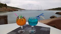 Portinatx cocktails (Tim Cunningham's Images) Tags: spain drink ibiza cocktails balearics portinatx