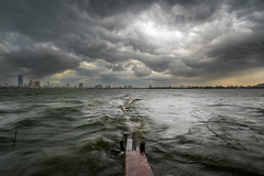 Before the storm (Hoach Le Dinh) Tags: cloud storm lake cloudy wind