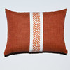DSC_5200 (4 Your Decor) Tags: orange white pillows pillow etsy homedecor couchpillow darkorange pillowcover diamondpattern bedpillow accentpillow
