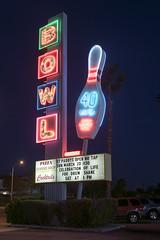 Linbrook Bowling Center, Anaheim, CA (Dean Jeffrey) Tags: california sign losangeles neon anaheim