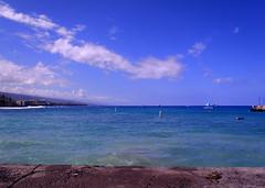 Morning walk Kailua-Kona - I (Anders Magnusson) Tags: sea cloud water hawaii kona thebigisland kailua kailuakona andersmagnusson