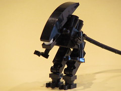 Lego Xenomorph Drone (The MiniFig Tree) Tags: brick lego fig bricks alien minifig custom figures minifigure moc drone xenomorph