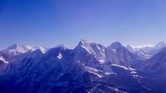 Montaas everywhere (PhotoSebastian) Tags: nepal snow mountains himalaya highest