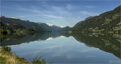 Vgvatnet (AdelheidS photography (at work in Norway now)) Tags: mountain lake mountains reflection water norway landscape mirror norge scenery norwegen reflect noruega nordic scandinavia norvegia noorwegen strynefjell vgvatnet adelheidspictures adelheidsmitt adelheidsphotography