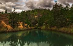 Pozos Azules, Villa de Leyva (Juan Diego Rivas) Tags: naturaleza lake nature azul lago colombia desert paisaje pozos desierto sulfur bluelake pozo villadeleyva boyaca azufre paisajenatural densidadneutra pozosazules