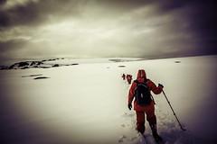 The Red Penguins (Baron Reznik) Tags: snow sports nature horizontal trekking landscape day hiking scenic wideangle antarctica adventure explore remote polar exploration  idyllic  otherworldly  scenicview colorimage   polarregion canon24105mmf4lis   galindezisland  argentineislands   wilhelmarchipelago frigidzone