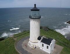 North Head Lighthouse (El Kite Pics) Tags: usa lighthouse kite washington aerial kap northhead ilwco