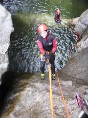 P1120378 (Mountain Sports Alpinschule) Tags: blue mountain sports lagoon canyoning zillertal zemmschlucht alpinschule