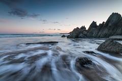 Marloes Sands, Pembrokeshire (Kerrlee1) Tags: ocean sea seascape wales canon rocks tide nd 12 sands pembrokeshire hitech marloes