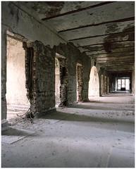 2015 - Kodak Portra 160, Greystone State Hospital (kurttavares) Tags: 120 film mediumformat newjersey nj haunted analogue asylum greystone ue urbex psychward statehospital morriscounty
