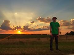 (r a g g e d y a l i) Tags: sunset summer sky clouds louisiana warmth
