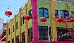 Summer Lamps (incidencematrix) Tags: sanfrancisco california chinatown blackberry priv