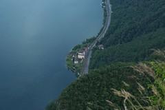 depuis le San Salvatore (bulbocode909) Tags: tessin vert bleu arbres lacs lugano printemps montagnes sansalvatore forts