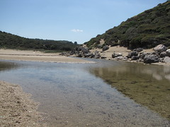 Calm water... (kostakai) Tags: nature hellas greece melani volos