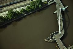 DSC_1390 [ps] - Twitch (Anyhoo) Tags: city bridge urban brown geometric water bar river dark island pier pub view bank australia melbourne victoria yarra vic angular yarrariver viewfrom riveryarra anyhoo photobyanyhoo ponyfishisland viewfromtheeurekatower