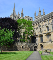 Peterborough Cathedral 2 (uplandswolf) Tags: cathedrals peterborough peterboroughcathedral