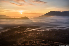 Indonesia by Adrien Le Falher (Adrien Le Falher) Tags: park morning blue sunset mountains fog clouds forest sunrise indonesia golden rainforest natural muslim mosque national hour minimalist borobudur bromo mosk istiqlal