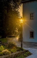 Solarleuchte (matthias_oberlausitz) Tags: schweiz sachsen laterne leuchte festung schsische elbsandsteingebirge knigstein