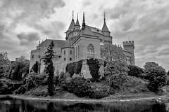 Бойницкий замок, XII-XIX в. Словакия (varfolomeev) Tags: 2015 словакия замок slovakia castle nikonp340 bw monochrome чб