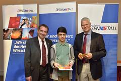 Landessiegerehrung 48. Mathematik-Wettbewerb des Landes Hessen (HESSENMETALL111) Tags: germany hessen oberursel hessenmetall