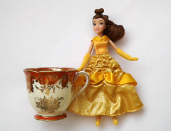 Belle and Chip??? (DollyCheeseCake) Tags: cup beauty toy store doll tea mini disney belle beast teacup