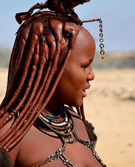 Himba woman (silviasalvi) Tags: africa namibia nature portrait ritratto africanpeople people himba nikond7000